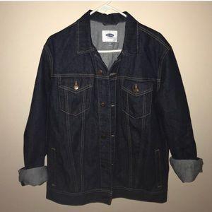 Old Navy Dark Wash Denim Jacket- Never Worn